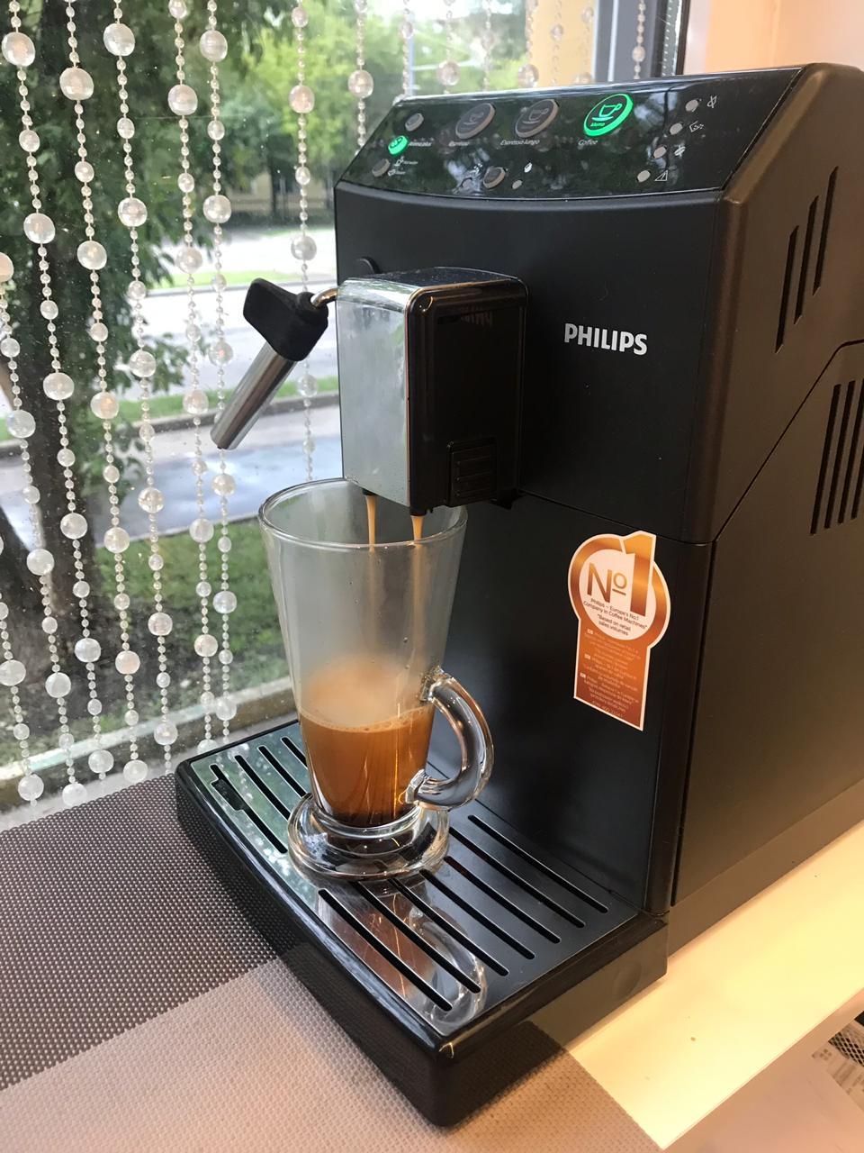 Кофемашина в салоне в Перово